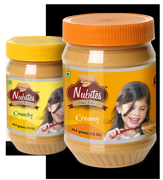 Nubites Peanut Butter Creamy & Crunchy